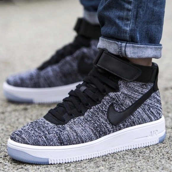 nike air force 1 black oreo